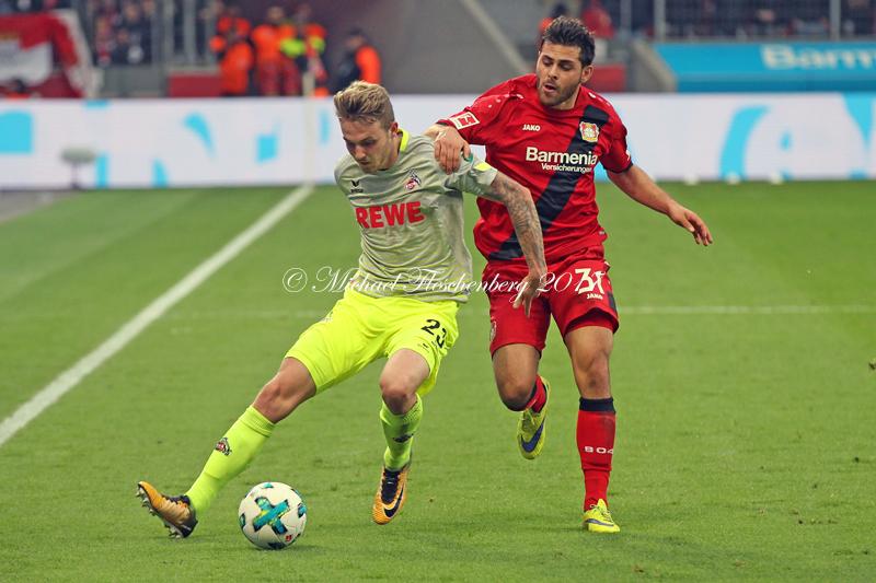 28 10 2017 Fussball Bundesliga 10 Spieltag Bayer 04 Vs 1